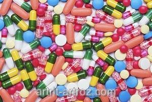разные виды таблеток