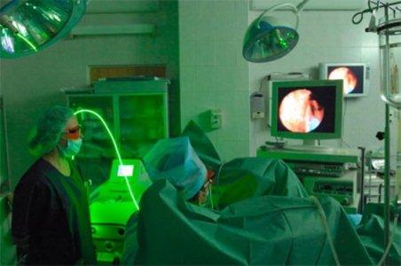 операция по удалению грыжи лазером