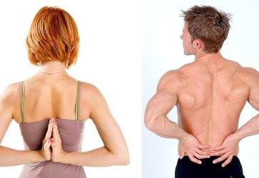 мужчина и женщина стоят спиной