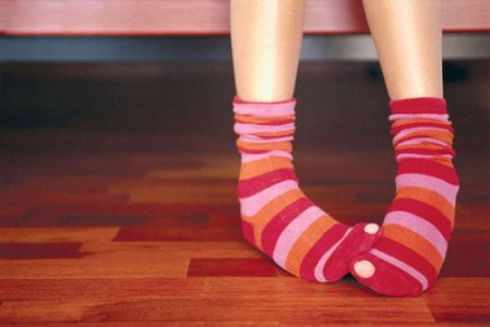 ноги ребенка