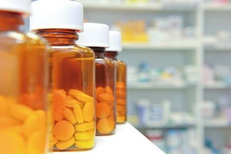 Баночки с лекарствами